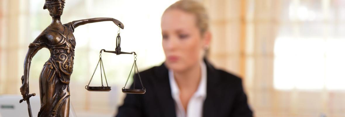 Advocate in kantoor